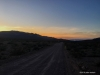 sunset from our furnace creek wash rd campsite