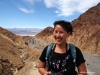 steph in mosaic canyon